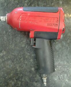 Snap on Mg725 1 2 Drive Air Pneumatic Impact Wrench