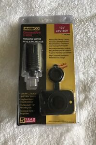 Marinco 12vcps2 Connect Pro Combo 2 Wire Plug Connector