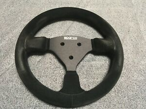 Sparco 015p270 Black Suede Steering Wheel 270mm