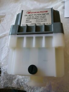 Edwards Emf20 Dual stage Exhaust Mist Oil Filter new