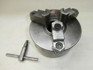 3 Jaw 6 Lathe Chuck With L 00 Backing