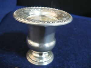 Sterling Toothpick Holder Urn By International Very Pretty Model Nh 13 1