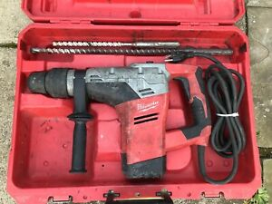 Milwaukee 5317 20 1 9 16 Sds Max Rotary Hammer Drill W case And Bits F s