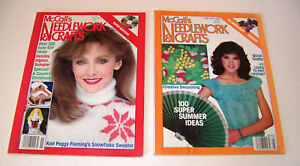 Mccalls Needlework Crafts Nov 1981 May 1982 Lot Of 2