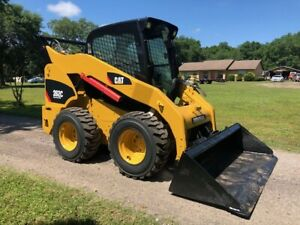 Cat 262c Xps High Flow A c Cab Power Quick Attach W New Tires And Low Hours