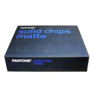 Pantone Pms Solid Chip Matte Book With Special Feature 1 114 Colors Discontinued