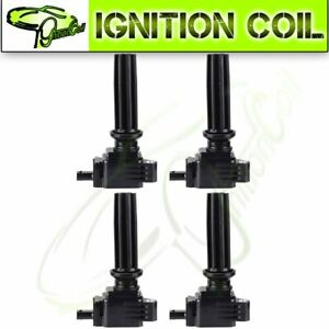 Set Of 4 Brand New Ignition Coils For Ford Edge Escape Focus Fusion Uf670