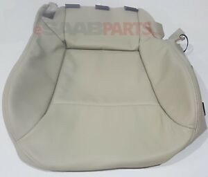 New Saab 9 3 Seat Cover Lh Bottom Beige L20 W O Pocket Convertible 2004 11 Oem