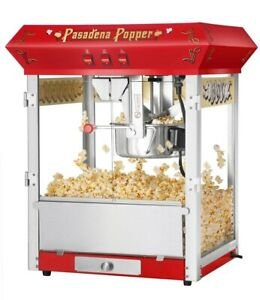 Great Northern Popcorn Popper Machine 3 switch Detachable Base Light Steel