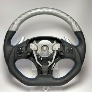 Lexus Is250 Is350 Isf Is f Silver Carbon Top Flat Bottom Steering Wheel Xe20