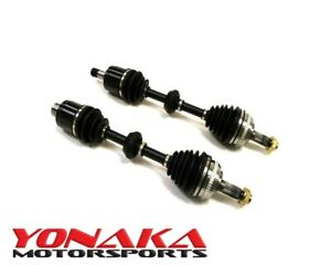 New Yonaka Pair Acura Rsx 02 06 Base Premium Performance Axles 300whp K20a Shaft