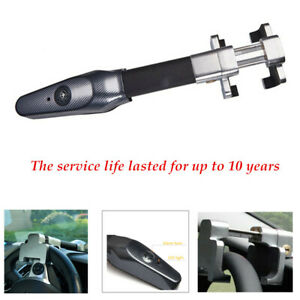 Auto Steering Wheel Lock Security Car Anti Theft Safety Alarm Steel Structure