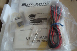 Midland Lmr 70 510b 2 way Mobile Radio 464 500 Mib Unused
