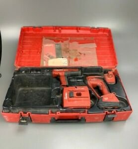 Hilti Kit Dx351 Bt Powder Actuated Tool Xbt 4000 a Drill C7 24 Charger X btg