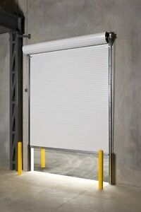 Durosteel Janus 8 Wide By 10 Tall 2000 Series Commercial Roll up Door Direct