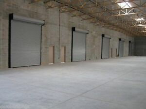 Durosteel Janus 10 Wide By 16 Tall 2000 Series Commercial Roll up Door Direct