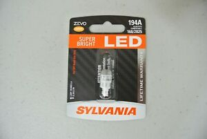 Sylvania Zevo Led Light 194a Amber Orange One Bulb License Dome Free Ship