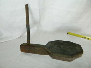 Antique Wood Carriage Buggy Step Repurpose Art