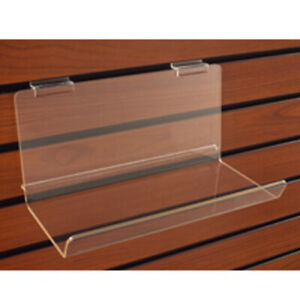 Acrylic Shelf With Lip In 23 1 4 W X 5 D X 5 H Inch