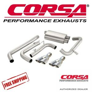 Corsa Cat Back Performance Exhaust System For 98 02 Chevy Camaro Sport Sound