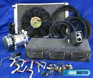 A C Kit Universal Under Dash Evaporator 450 Air Conditioner 450 100 A 14x20 Cond