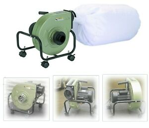 Woodworking Saw Dust Collector Air Flow 13 gallon Collection Bag
