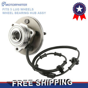 A Front Complete Wheel Hub Bearing Assy W Abs For Ford Explorer 4 Dr Mercury