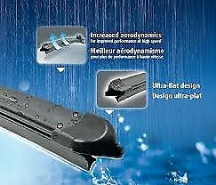 Kit 2 Front Wiper Blades Citro n C3 From 2002 Al 2009