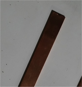 1 16 Thick 99 9 Copper Flat Bar Stock Craft Jewelry Making 1 2 Wide X 6 Long
