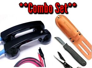 Electrician Knife scissor Set And Continuity Test Phones