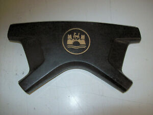 Vw Volkswagon Beetle Karmann Ghia Steering Wheel Wolfsburg Horn Cover Pad