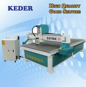 Cnc Router 4 8 1325 Air Cool Spindle Woodwork Engrave Cut Furniture Machine