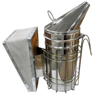 Beekeeping Smoker Wire Grid Shield Heat Protect Stainless Steel Construction