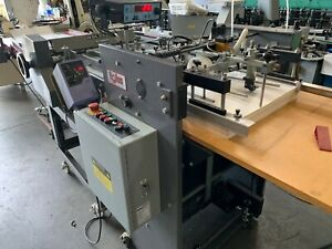 Rollem Champion Etr Pile Feed W Rollem Scorer Perforator Delivery Table