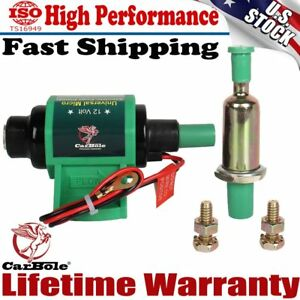 New Universal Micro Electric Fuel Transfer Booster Diesel Pump 35 Gph 4 7psi 12v