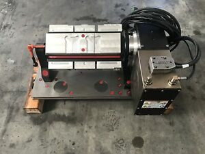 Haas Hrt210 Rotary Table With Chick 5ml 1040 Multi Lok Indexable Workholding Kit