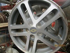 02 03 04 05 Cavalier Wheel 16x6 Aluminum 10 Spoke Chrome Opt Pfc 329198