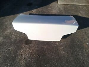 2003 2007 Infiniti G35 Coupe Trunk Lid White
