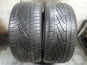 2 255 45 20 105y Continental Extreme Contact Dws 06 Tires 5 5 32 No Repairs 1615
