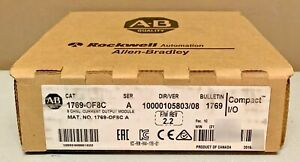 New Sealed Allen Bradley 1769 of8c 1769 0f8c A Compactlogix Current Output