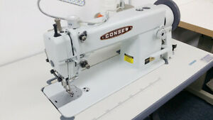 Consew 205rb 1 Industrial Walking Foot Sewing Machine For Leather With Servo