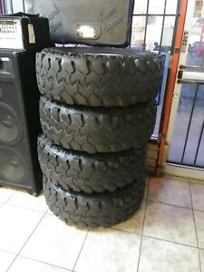 Interco Super Swamper 37x12 50r16 5lt Radial Tsl 4 Tires With Rims No Shipping