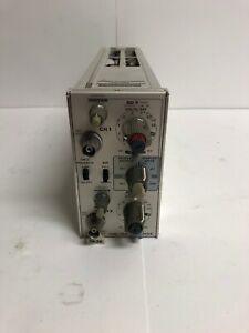 Tektronix 7a26 Dual Trace Amplifier Plug in For 7000 Series Oscilloscope