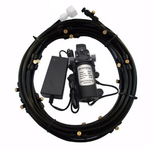 Diaphragm Water Pump Sprayer 12v 5l min Misting 160 Psi High Pressure Booster