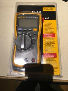 New Fluke 116 Digital Hvac Multimeter