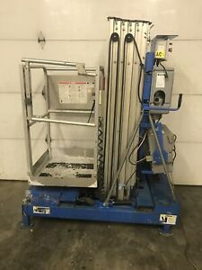 2010 Genie Iwp 25s 25 Electric Scissor Vertical Mast Man Personnel Lift