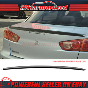 Fits 08 15 Lancer Evo x Mr Carbon Fiber Cf Trunk Spoiler Wing