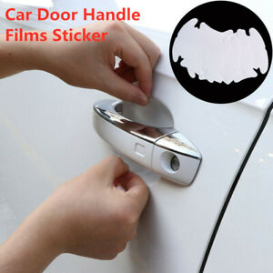 Clear Car Door Handle Films Sticker Protector Anti Scratch Protect Accessories