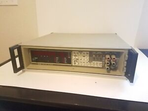 Fluke 8505a Digital Multimeter Loaded With Modules Opt 02a 03 05 09a