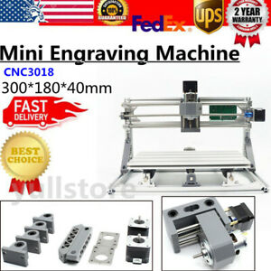 Desktop 3018 Mini Engraving Machine Milling Engraver Cnc Router Pcb Wood Diy